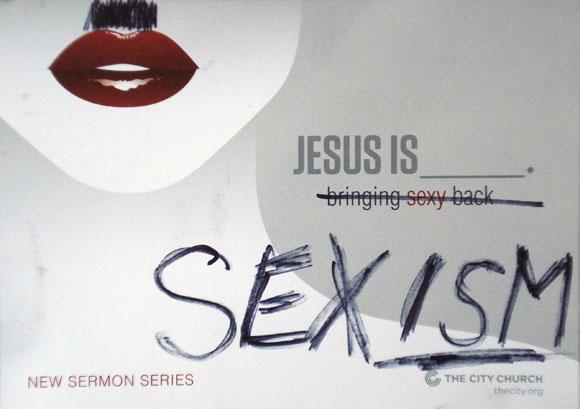 jesus is sexism