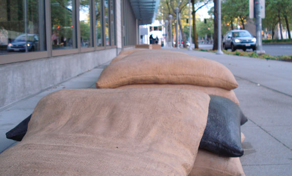 gates foundation bags of grain