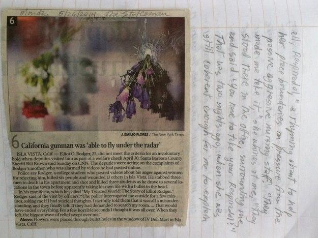 elliot rodger journal