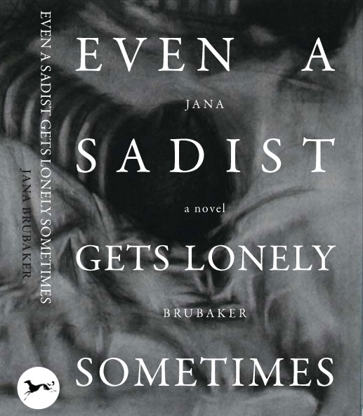 even a sadist gets lonely sometimes book jacket cover