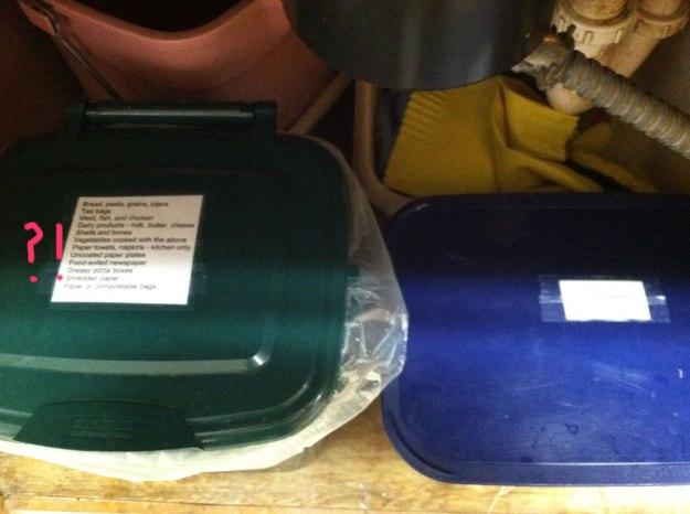 cha compost undersink bins