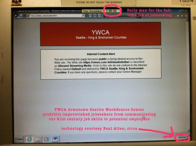 worksource ywca allen foundation