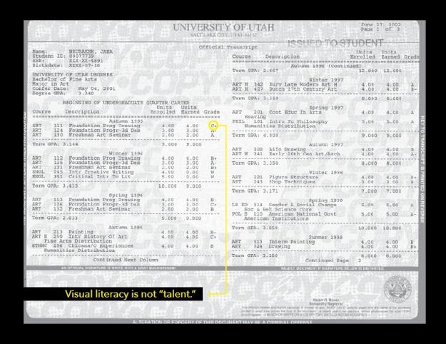 brubaker undergrad transcript