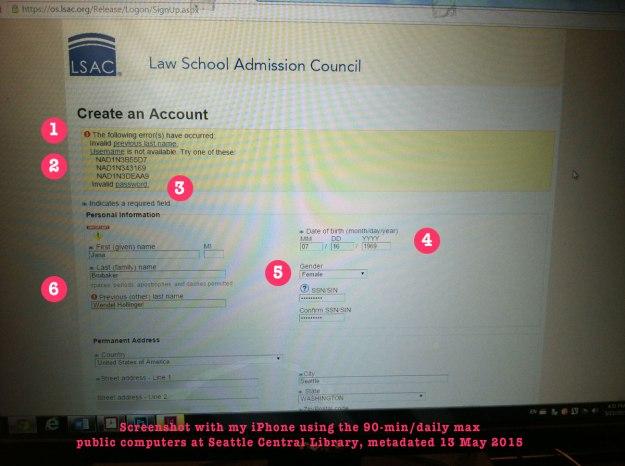 lsac account setup